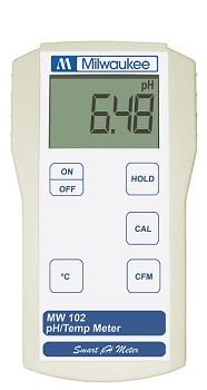 MW102 pH Meter Milwakee Instruments